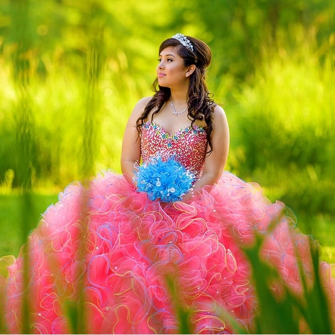 Xiomara - Sesión de Quinceanera en Houston