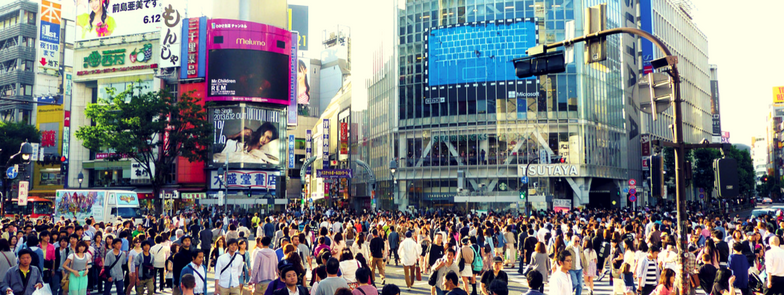 Shibuya Scramble Crossing | Thursday 19 October