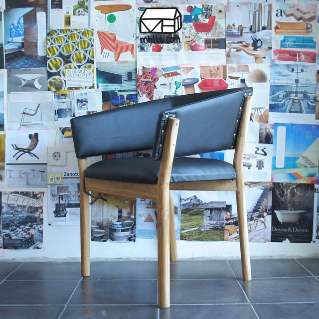 This is our first attempt for the chair that mhllt.com's team has designed for Cafe Cuckoo Nest in Denmark. The chair will be beautiful and super comfortable after done prototyping, it is going to be covered with 2 different colored leather which is imported from Italy and with the teak wood frame in a natural stain finish will just be what will bring it to the top!