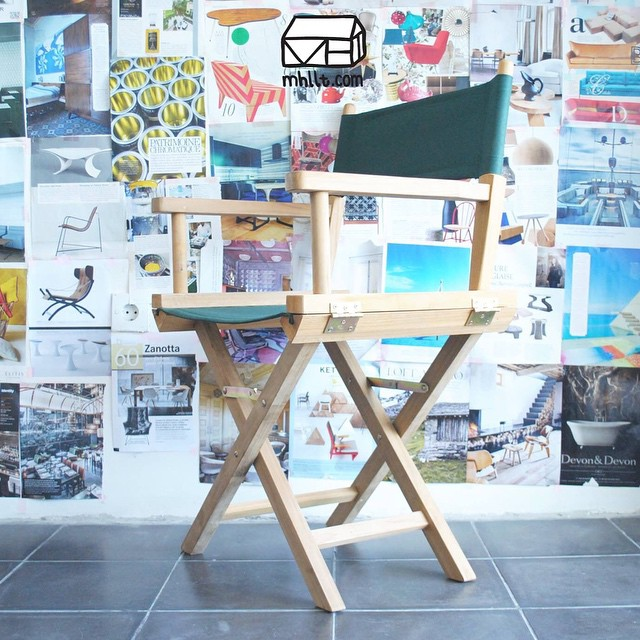 Another prototype chair designed by mhllt.com for Cafe Cuckoo Nest, Denmark.