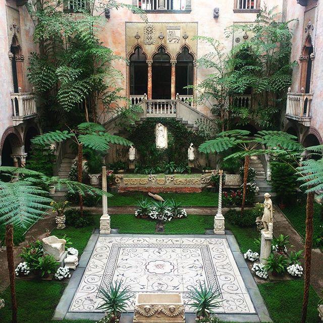 My new digs. What do you think of the decor? Is it too much? @mogeebz  #isabellagardnermuseum . . . #makingitwork #boston #museum #art #siteseeing #birthday #birthdaygirl #yesterday #beautiful #notooshabby
