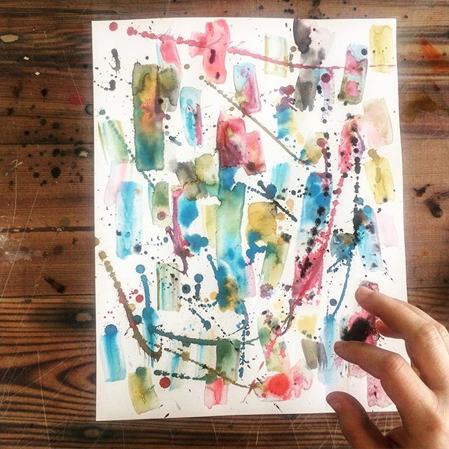 A lot of cell divisions in this one. Maybe I'm feeling scattered, or maybe it's just a drawing. Classic overthinking or under-thinking dilemma #thecolorsarenicethough . . . #ink #pen #draw #drawing #paint #painting #worksonpaper #paperart #art #artist #abstractpainting #abstract #abstractart #abstractexpressionism #newwork #calligraphy #wip #process #processing #bosarts #somerville #studiolife