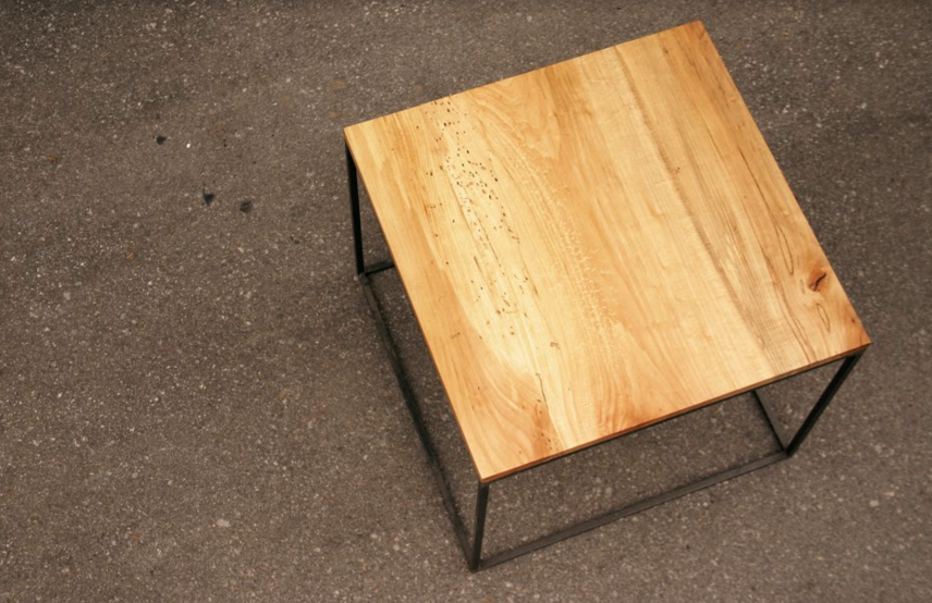 Copy of Straight Edge Ash Top with Minimalism Base