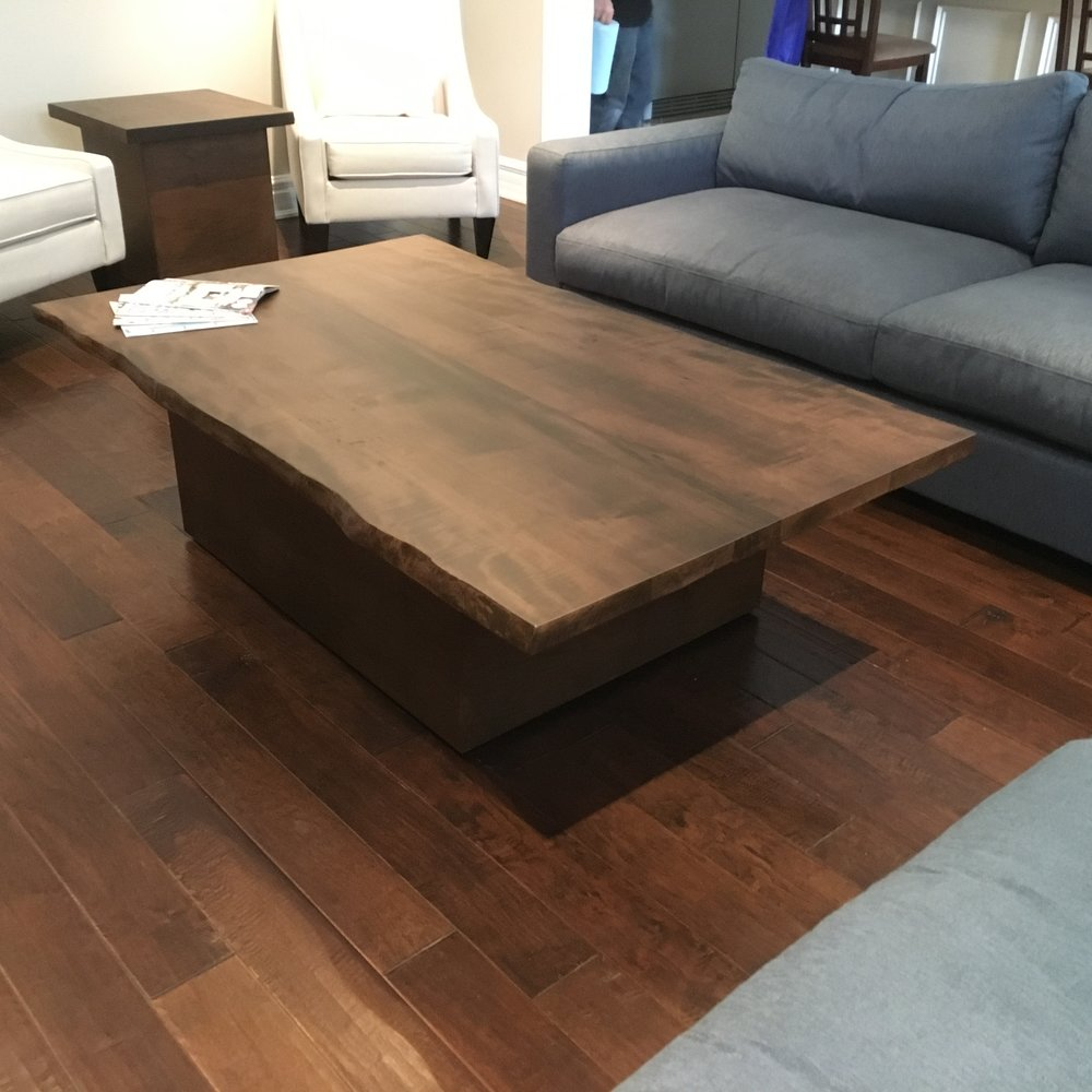 Stained Maple Coffee Table