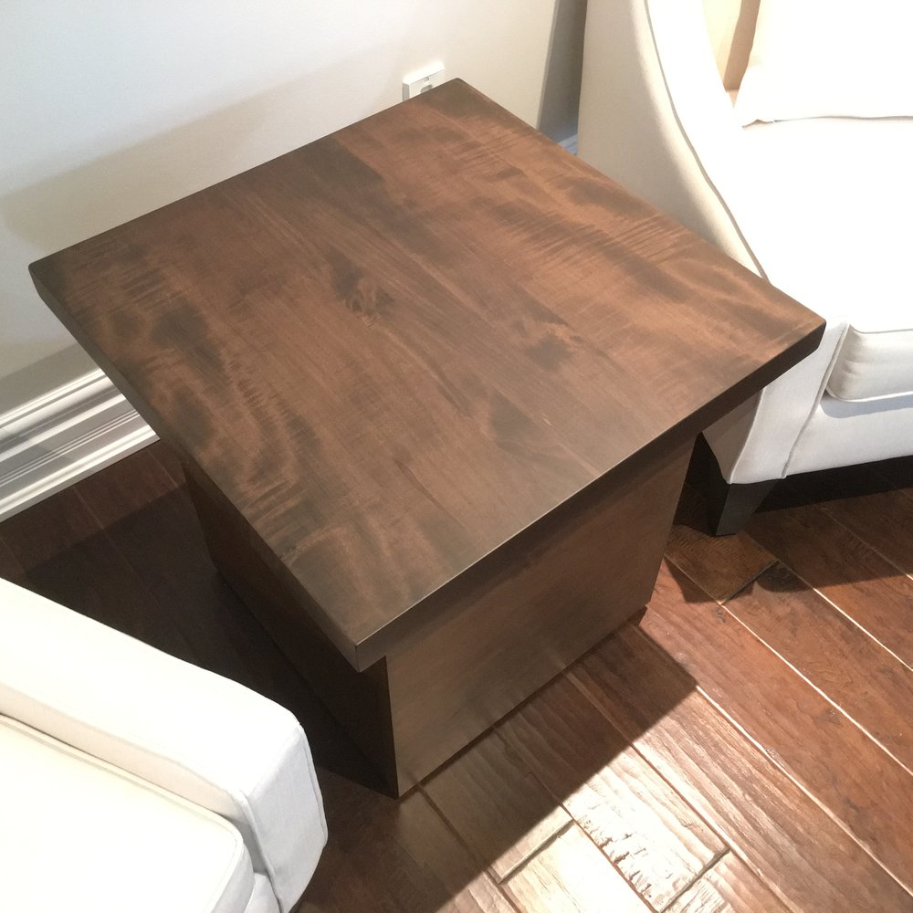 Copy of Stained Maple Side Table