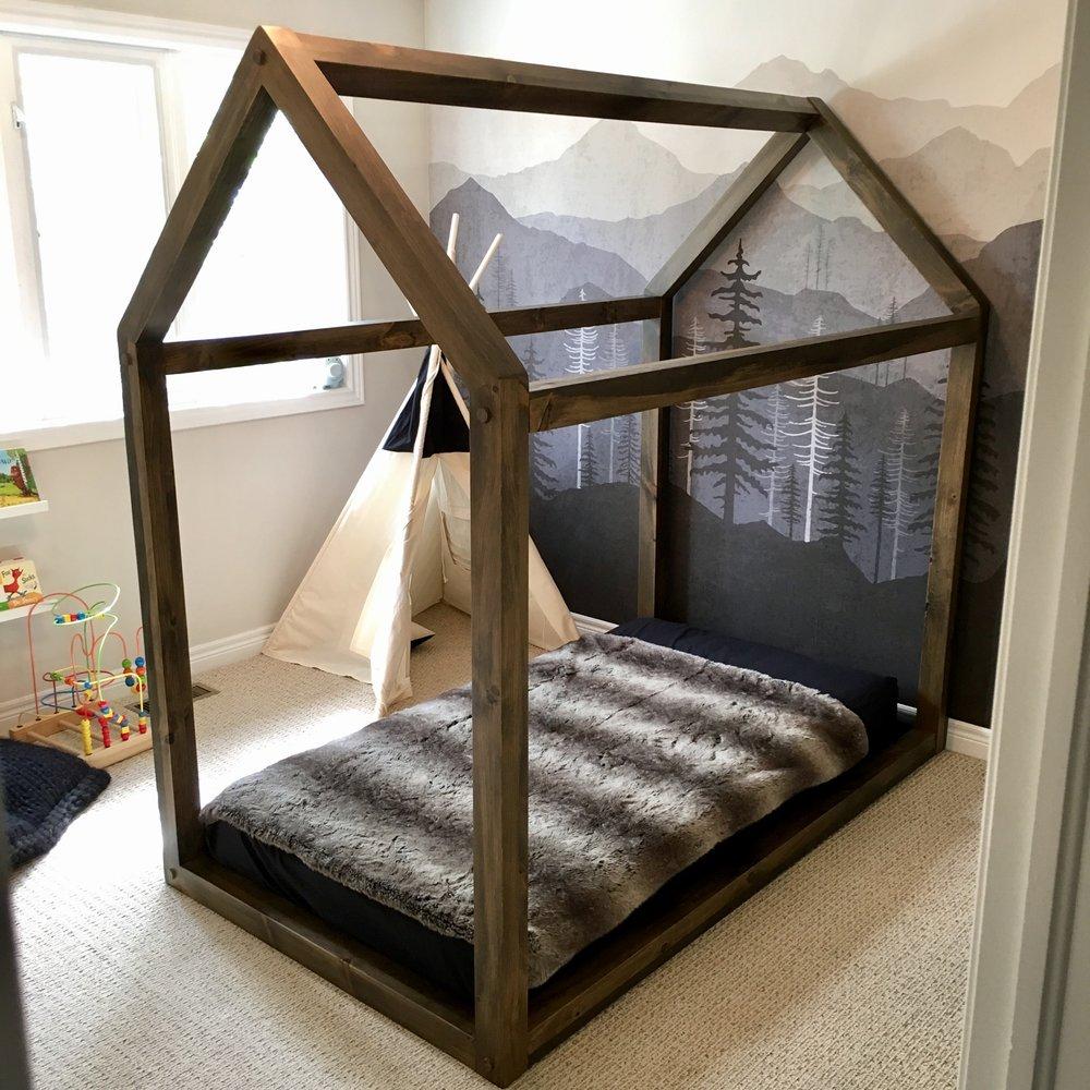 Custom Toddler Bed