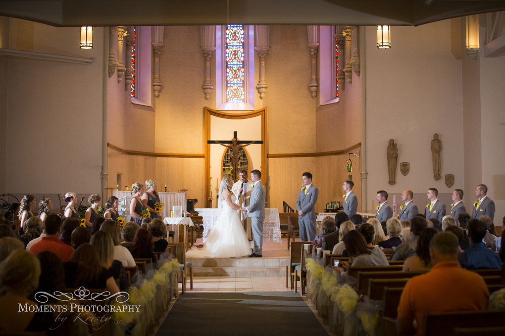 Cathedral Modern Wedding