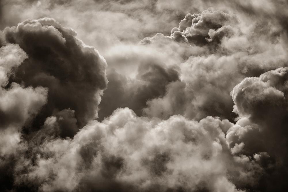 Clouds near Camino, CA
