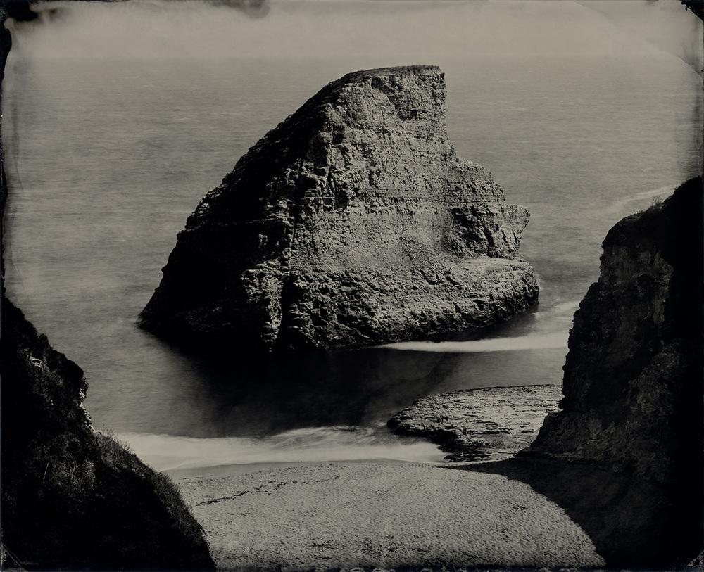 Sea Stack near Davenport, CA
