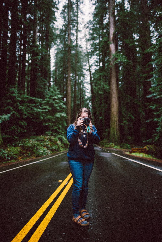 Humboldt Redwoods State Park Portrait
