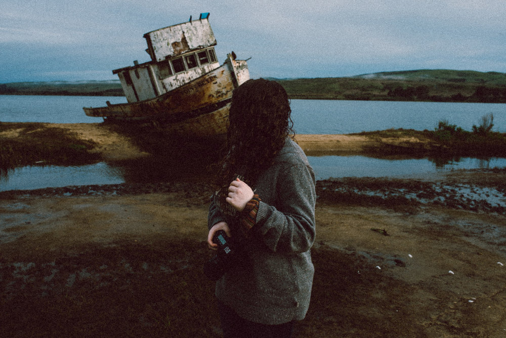 Point Reyes Shipwreck Portrait