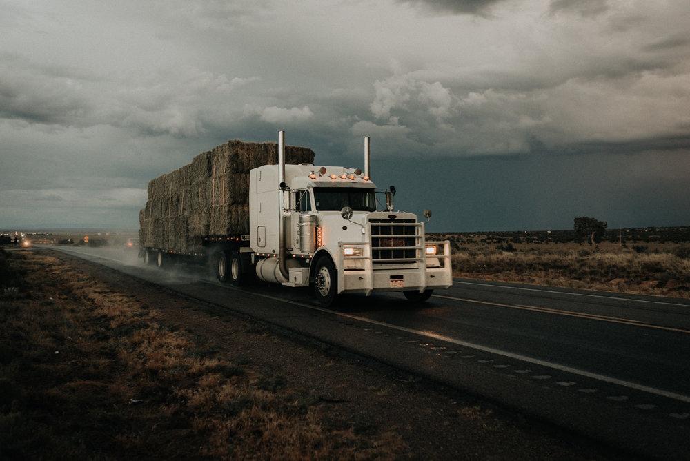 kayenta arizona kylewillisphoto demurela hay truck demi