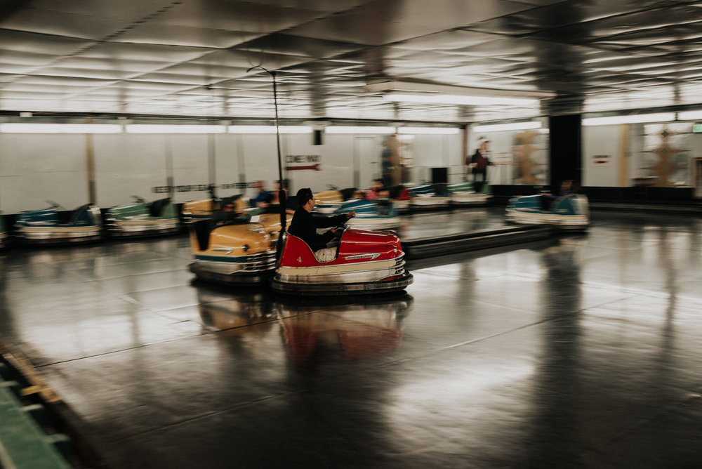 seaside oregon bumper cars kylewillisphoto demurela