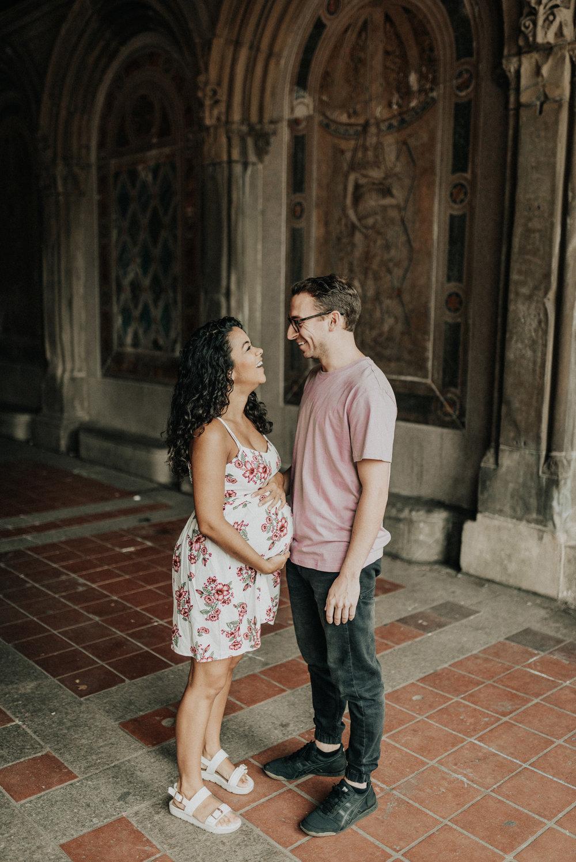 Bethesda Terrace Maternity Photos