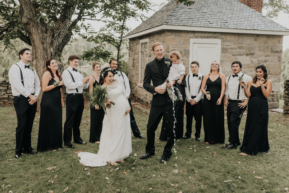 Steppingstone Farm Museum Wedding Photos