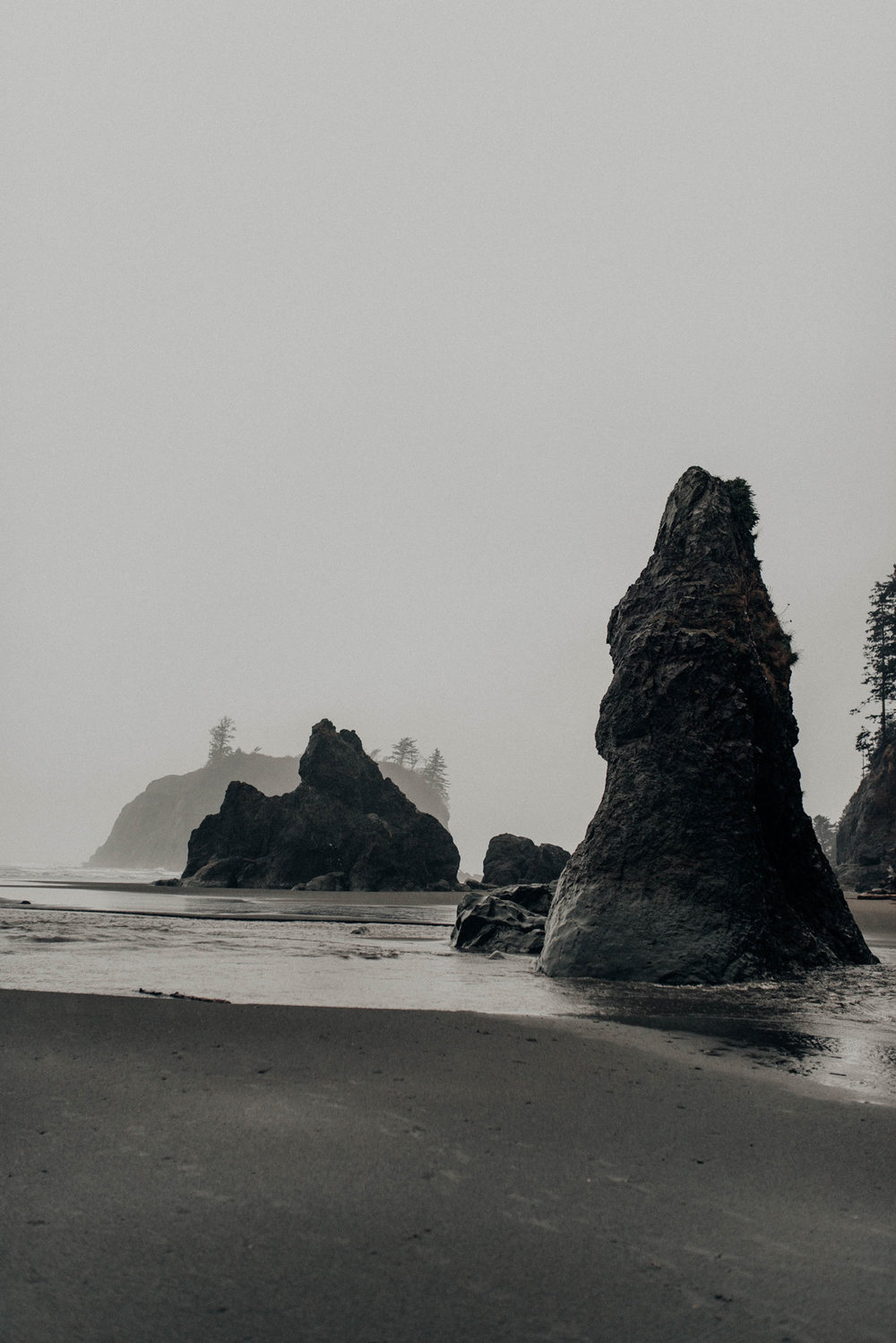 Ruby Beach Oregon Olympic National Park Washington KyleWillisPhoto