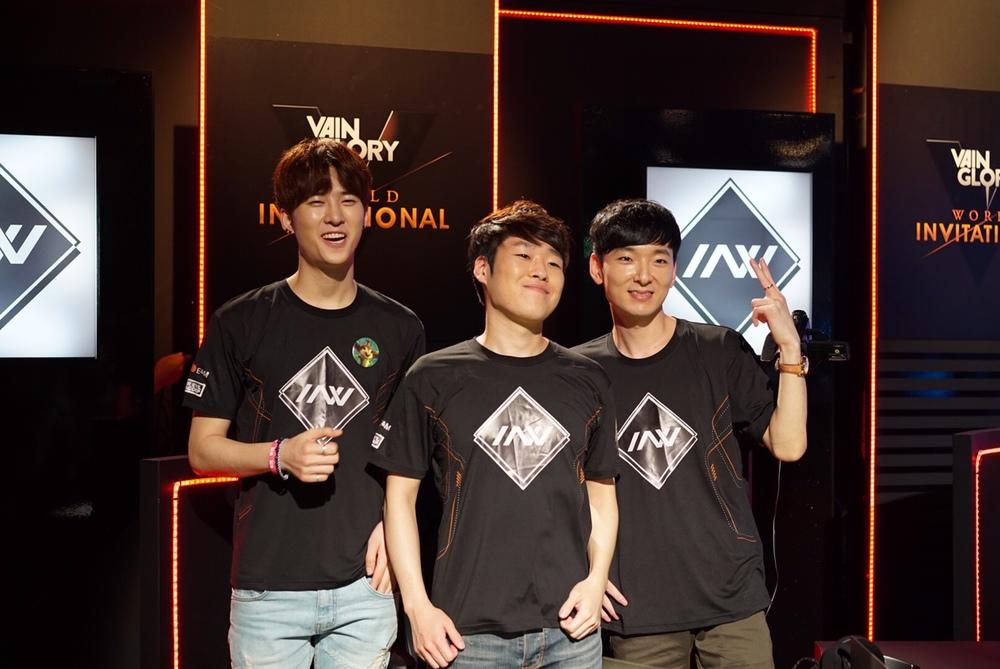 Invincible Armada represented Korea