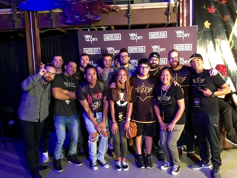 GankStars fam at the Finals! GodsEye, Aloh4, and ROAM were also there but not in this picture.