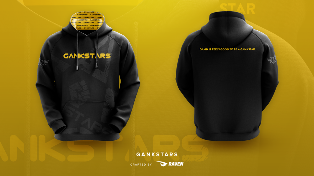The New GankStars Pullover Hoodie