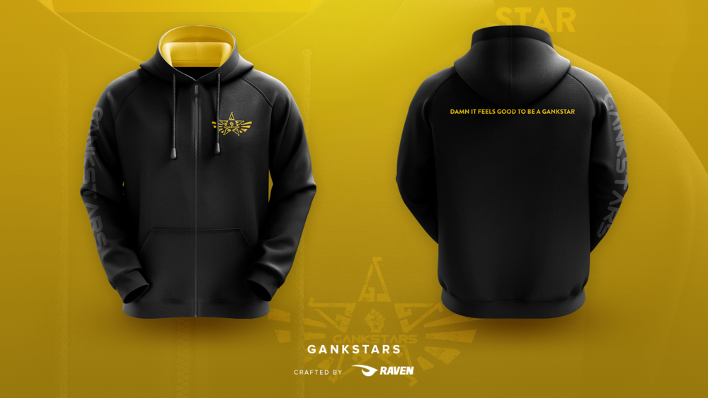 The New GankStars Zip Up Hoodie