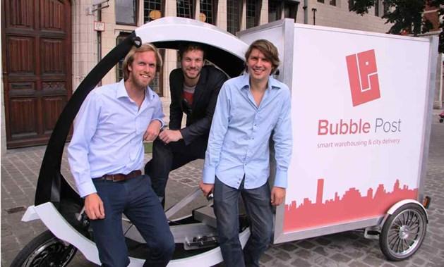 Aan het hoofd van Bubble Post staan Anthony Viaene, Benjamin Rieder en Michel De Waele.
