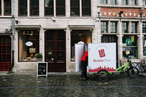 Bubble Post arrive en Wallonie