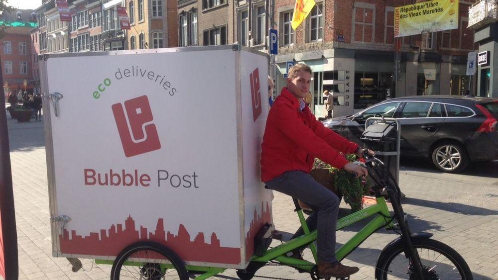 Les vélos électriques de livraison vont faire leur apparition dans trois villes wallonnes dont Namur - © Serge Otthiers