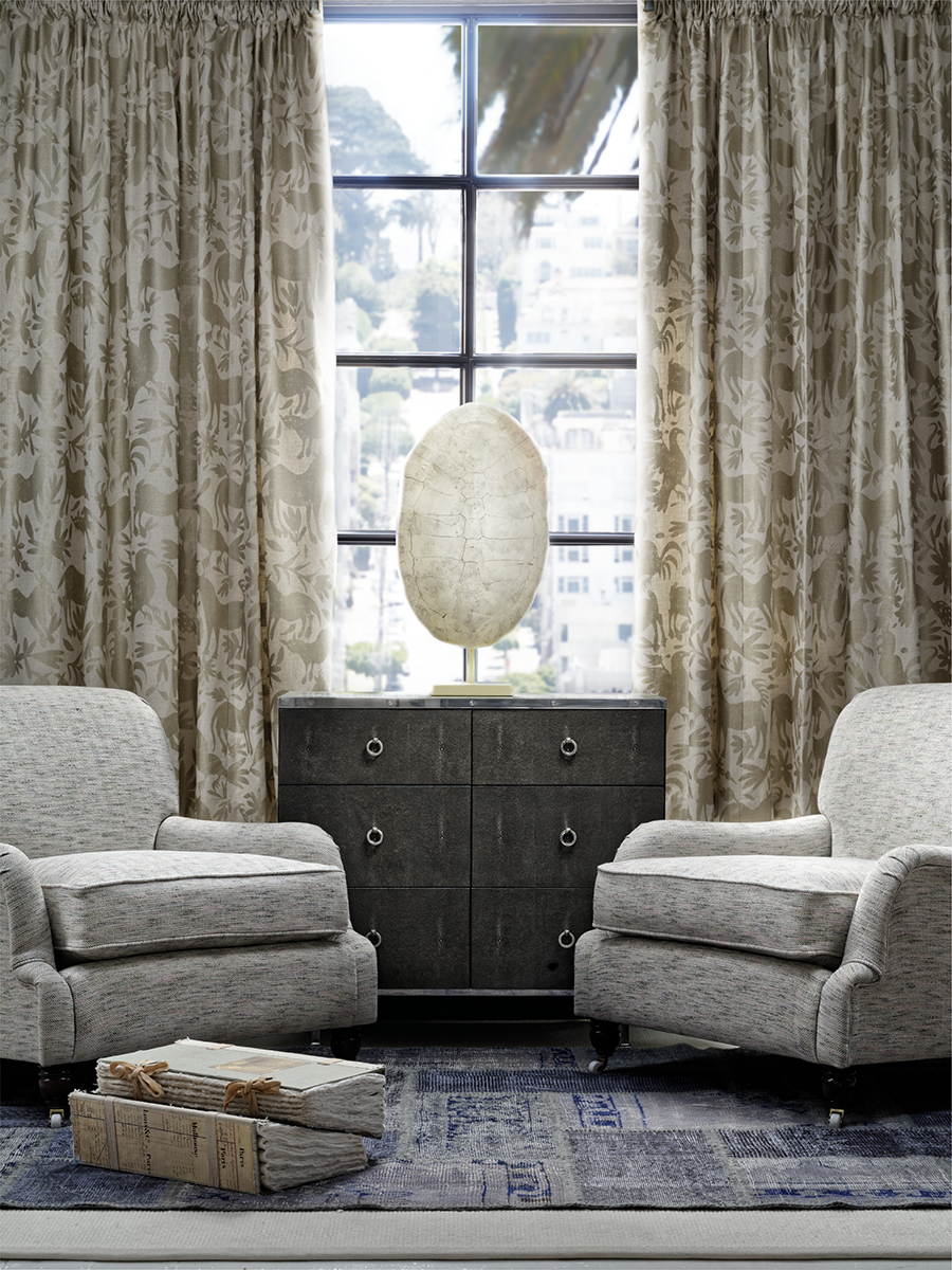 LR_Curtains and scatters in Maya Gold, Montague chairs in Delphini Shell with Sybil chest of drawers.jpg