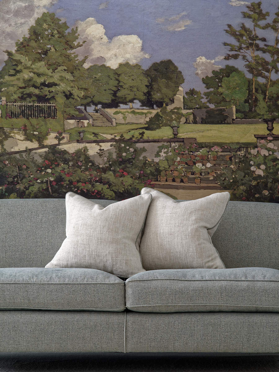 LR_Montague Sofa upholstered in Paraggi Muscari with scatter cushions in Summit Linen.jpg