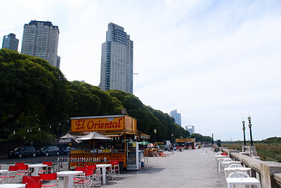 Costanera Sur - boardwalk (without the sea)