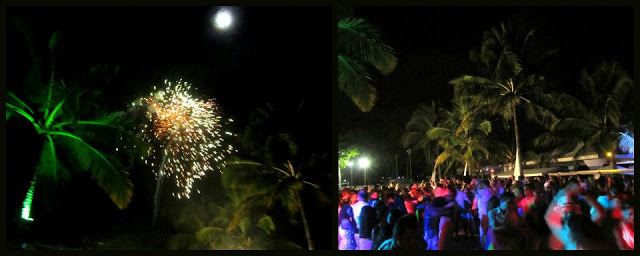 Celebrating New Year at the Beach Beat