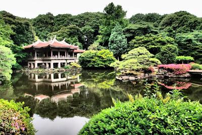 The famous Taiwan pavillion