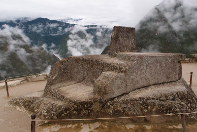 Inthuatana - a kind of sun dial where the Incas could see the times of the year