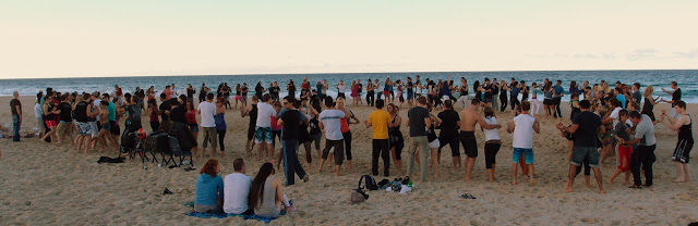 Dancing at Gold Coast - Australia