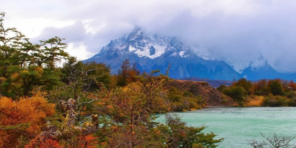 Torres del Paine national park in Patagonia, Argentina