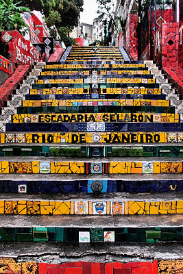 Escadaria Selaron - amazing piece of work!