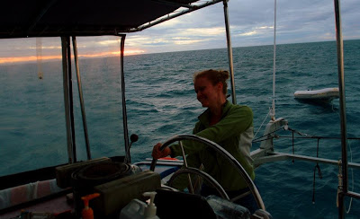 Captain Zouk, sailing into the sunset!