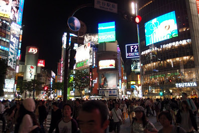 Shibuya crossing!
