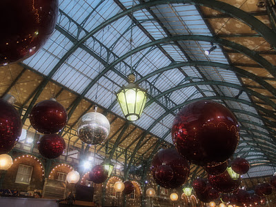 Covent Garden Christmas shopping