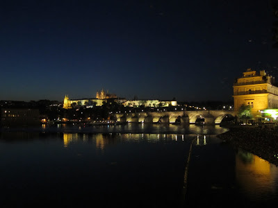 "River Vltava and   Charles Bridge   by night: ""we didn't save on the lighting"""