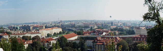 View over Prague from the Castle