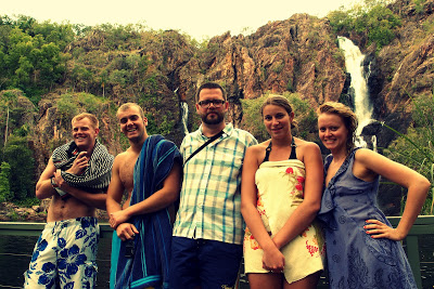 "Our Litchfield National Park ""European team"": UK, UK, Germany, Germany, Finland"