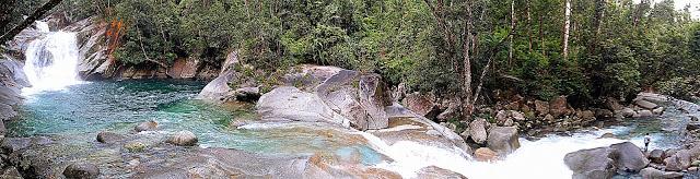 Not even half of Josephine Falls... it's massive!