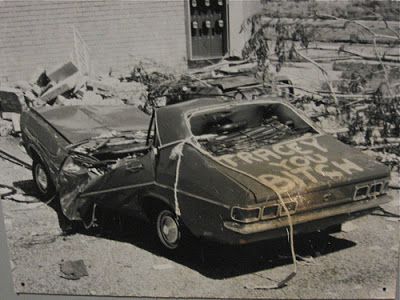 A picture from after cyclone Tracy (1974)
