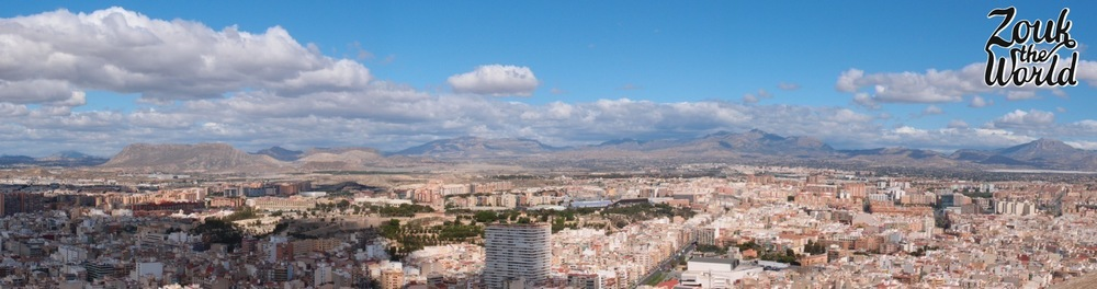 The many views from Castell de Santa Bàrbara