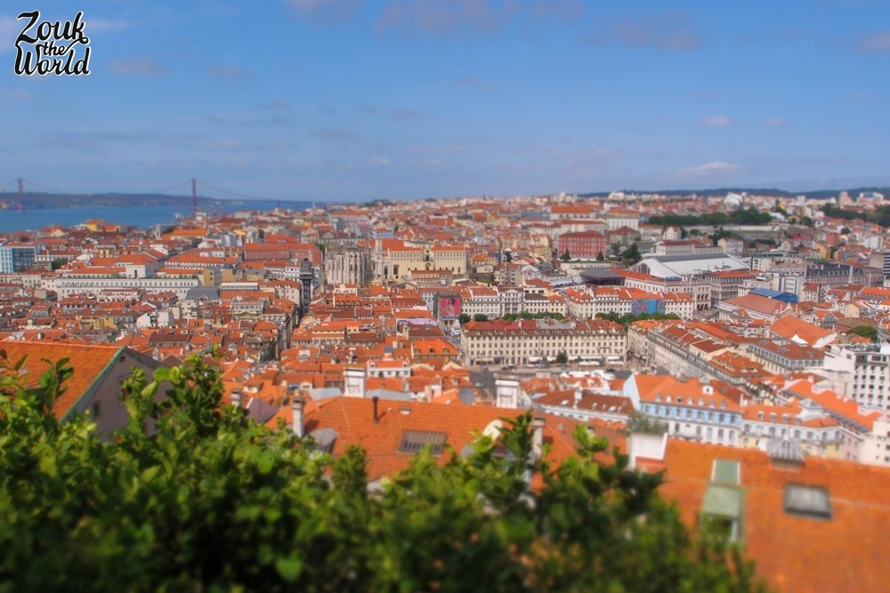 The panoramic views from Castelo de São Jorge. are hard to beat