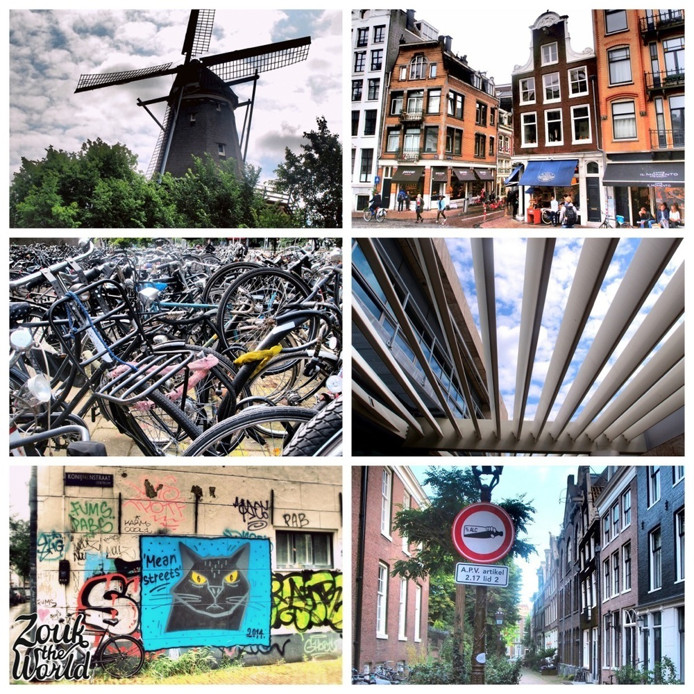 You can spot all kinds of interesting things wandering around Amsterdam