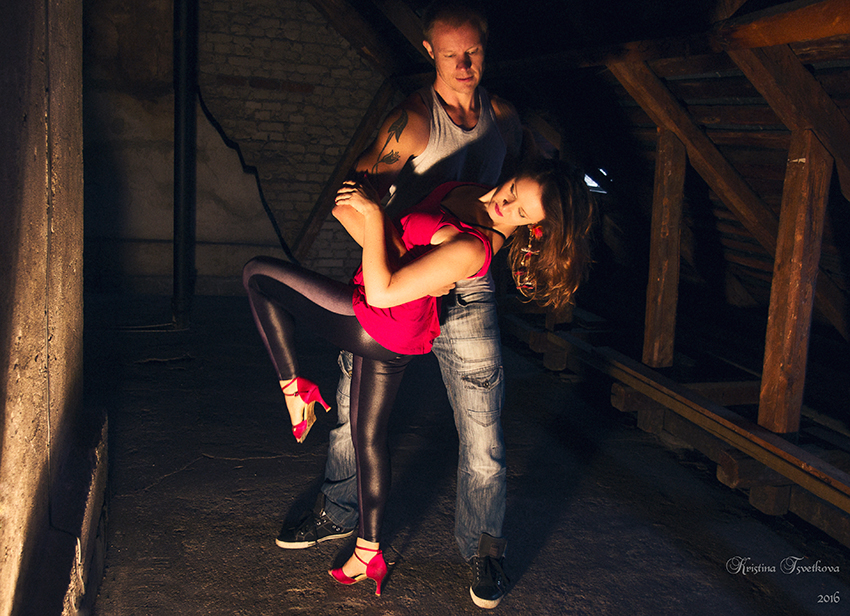 Photo of my dance partner Jaakko and I by our amazing friend & photographer Kristina Tsvetkova