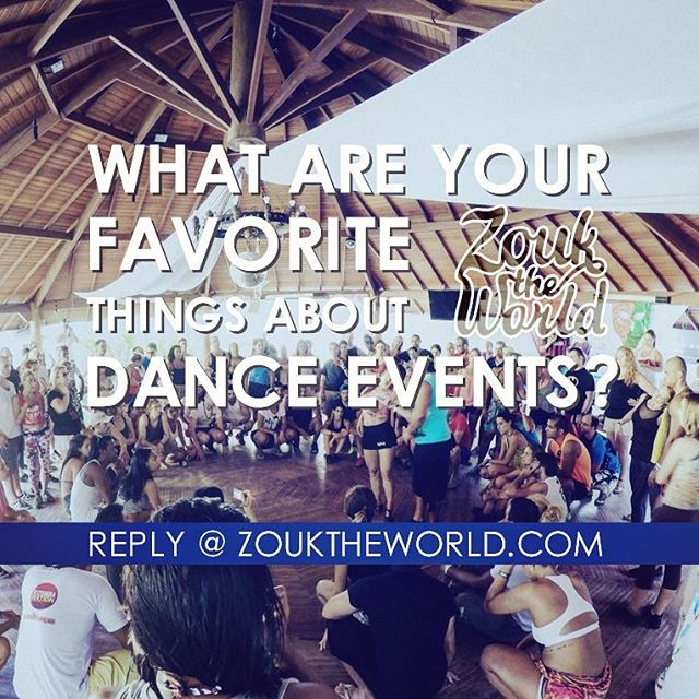 Yesss, I'm getting the 2018 Zouk Calendar ready💃 And while we're on that subject - a new poll is up!! 🌟What are your top 3 favorite things about international dance congresses?🌟 Workshops? Private classes? Dancing with your favorite artist or with your friends? Taking part in a competition? Dancing to live music? Catching up with friends from abroad? Making new friends? Romance? Travelling to a new place? Or something else!? Answer at zouktheworld.com - link in bio! • • #zouktheworld #dance #blog #dancing #poll #dancepoll #danceevents #dancecongresses #workhop #privateclass #socialdancing #meetingfriends #makingfriends #competition #jackandjill #performance #dancefriends #dancetravel #traveltheworld #zouk #brazilianzouk #lambazouk #socialdance #zoukfamily #dancerlife #dancefamily