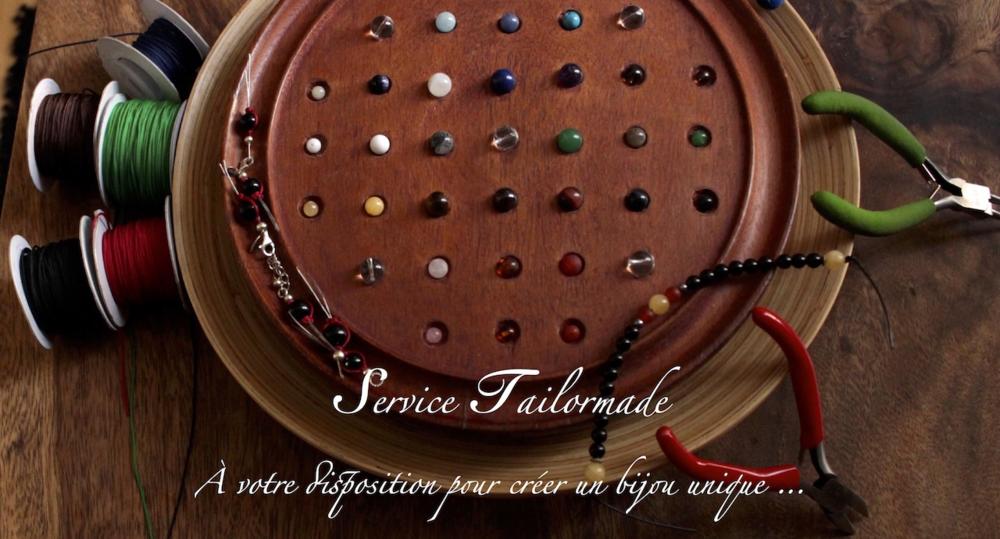 A votre disposition pour créer un bijou unique